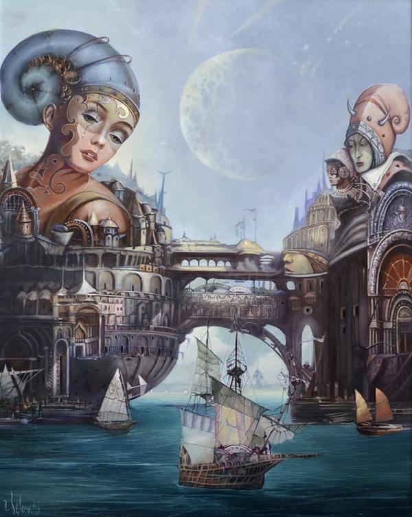 Tomasz Sętowski, paintings