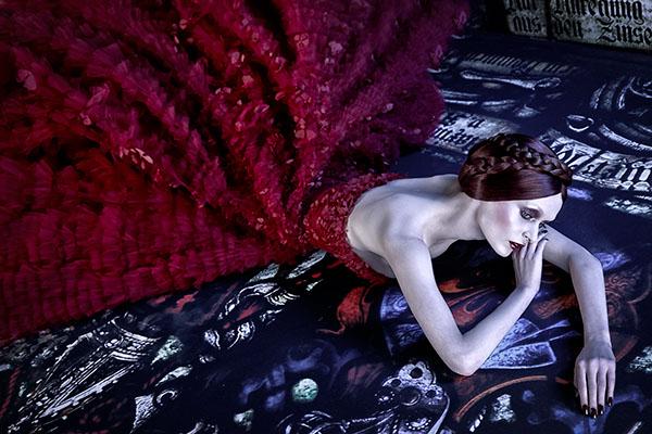 Velvet Magazine, Michael Cinco, project by Tina Patni