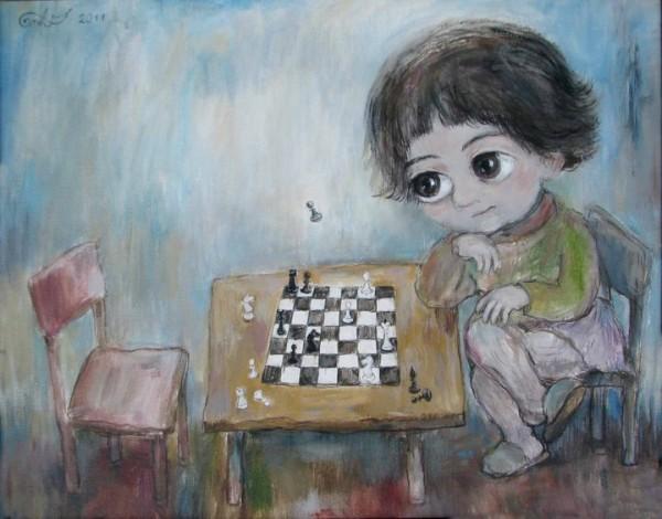 Nino Chakvetadze, paintings