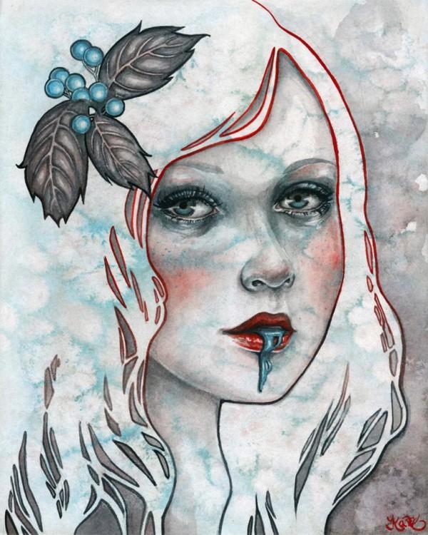 Kelly McKernan, paintings