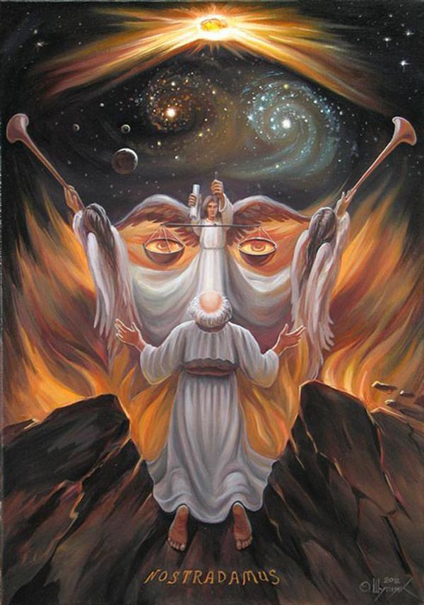 Mind-blowing optical illusions, paintings by Oleg Shuplyak