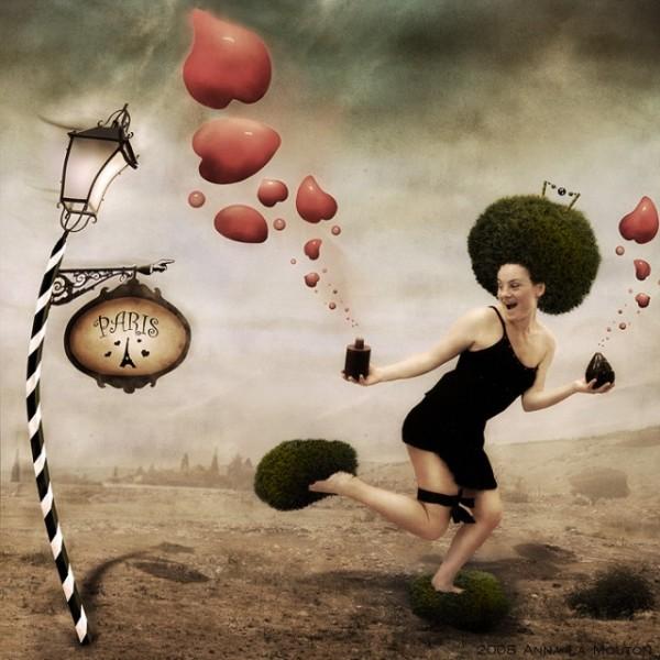 Anna La Mouton, digital art