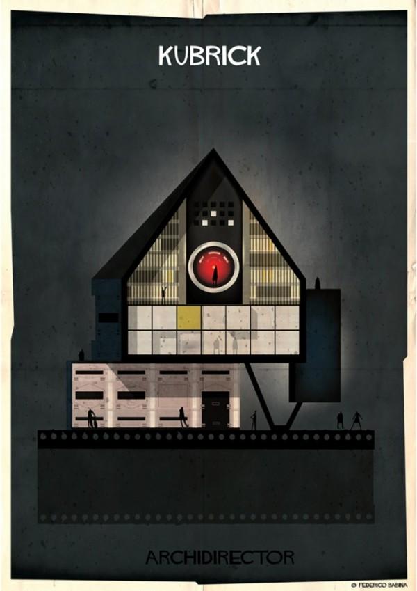 Archidirector, illustrations by Federico Babina
