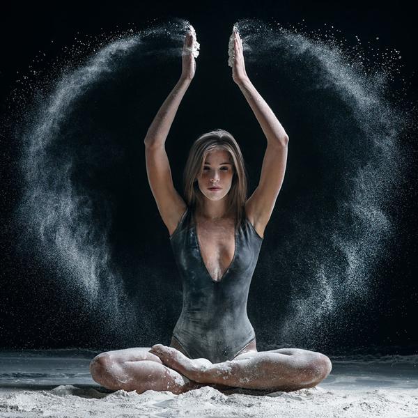 Big bang theory, explosive dance photography by Alexander Yakovlev