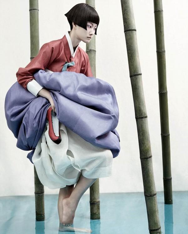Full Moon Story, fashion portraits by Kyung Kim Soo