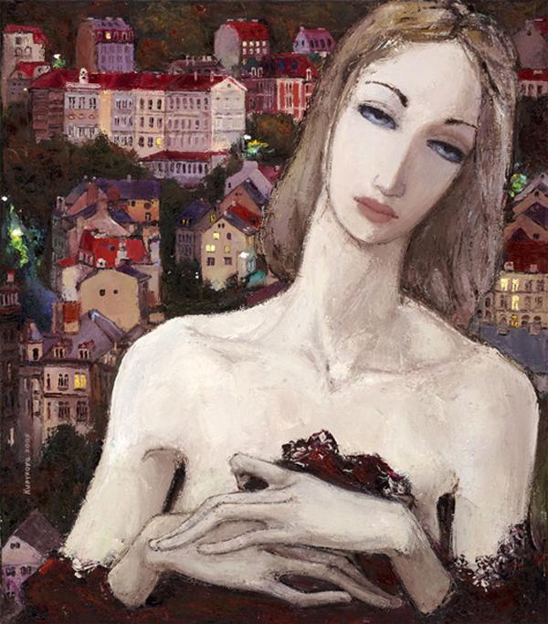 Irina Kupyrova, paintings