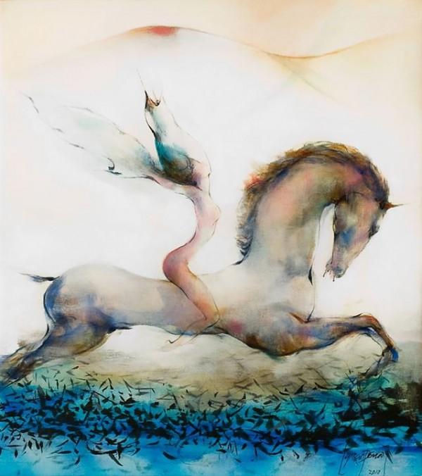 Paintings by Ernesto García Pena