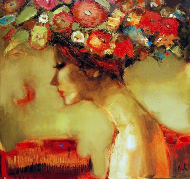 Elena Ilku, paintings
