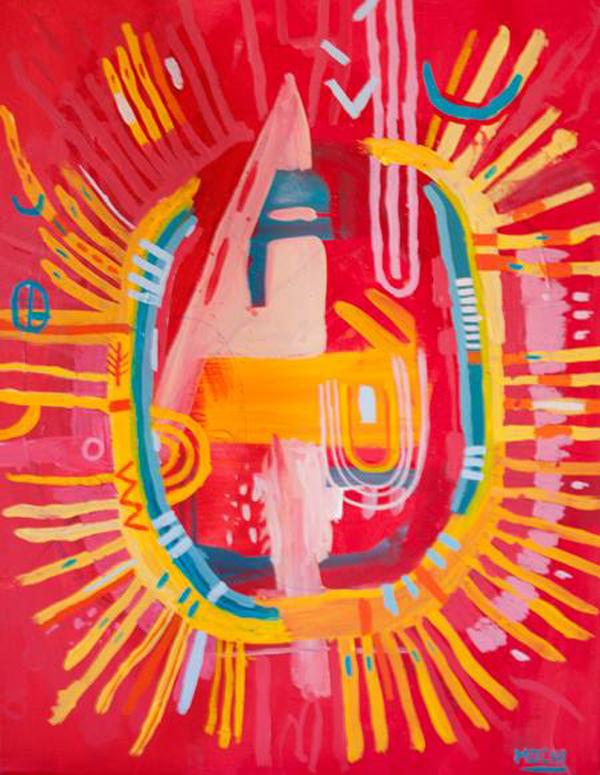 Paintings by Daniel Mochi