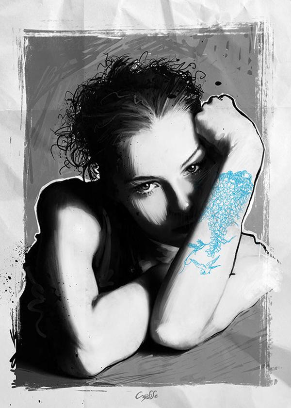 Christophe Segura, digital art