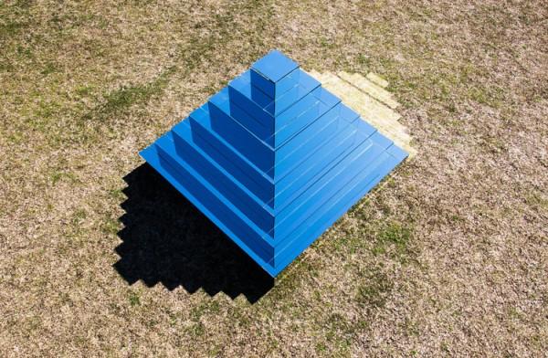 Mirrored Ziggurat by Shirin Abedinirad