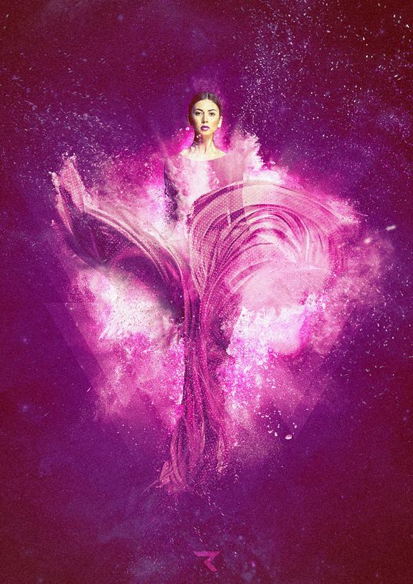 The Pleiades, digital art by RETOKA _ BCN