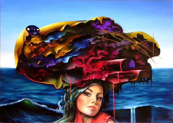 Łukasza Jarugi, paintings