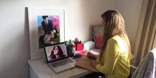 Alana Mays, digital paintings