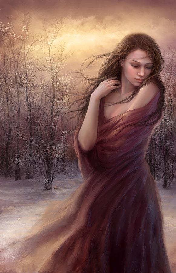 Digital paintings by Sonia Verdu