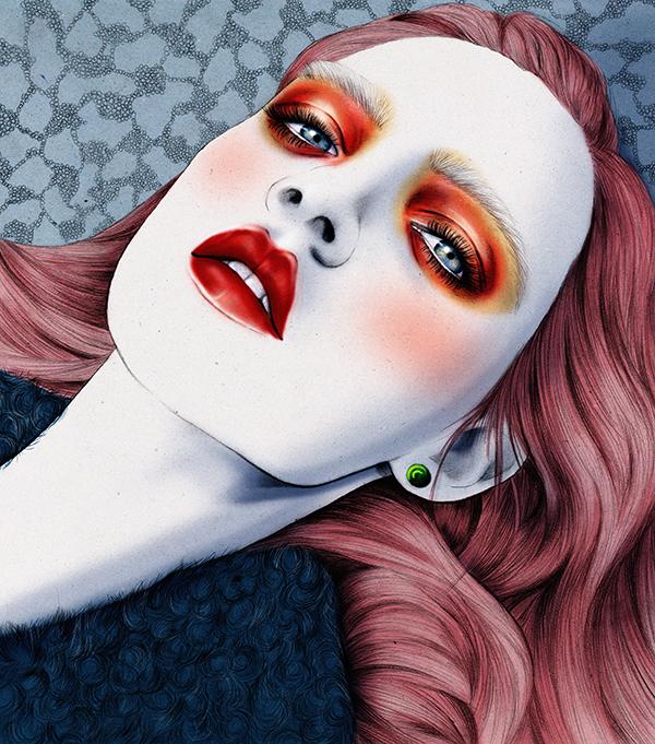 Dreams, fashion illustration by UNA Studio