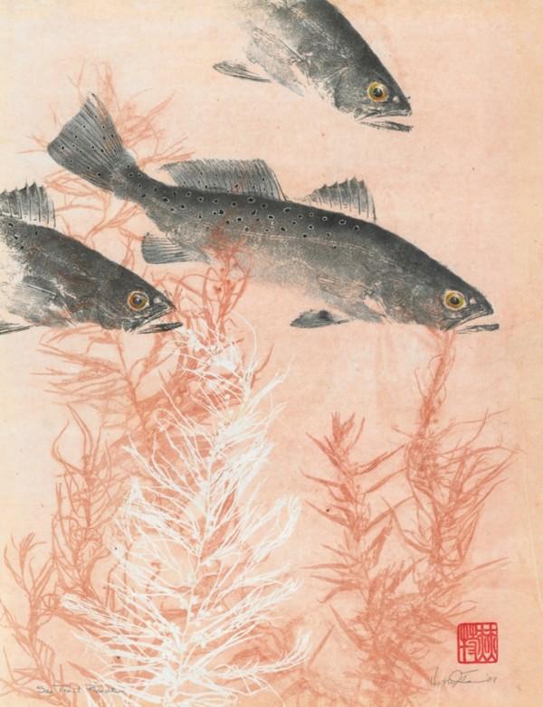 Gyotaku by Heather Fortner
