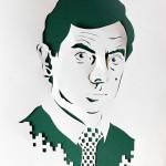 Paper Portraits by Marina Adamova