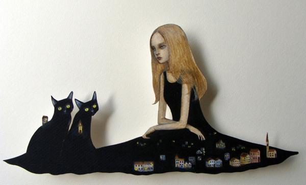 Paper dolls by Maki Hino