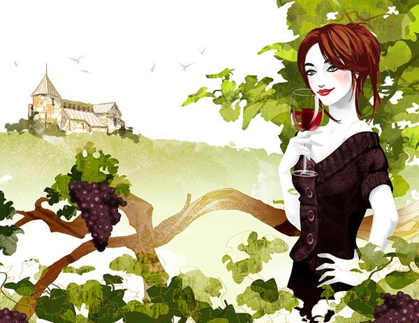 Rendez-vous en France, illustration by ROS