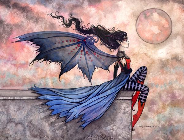 Fantasy art by Molly Harrison
