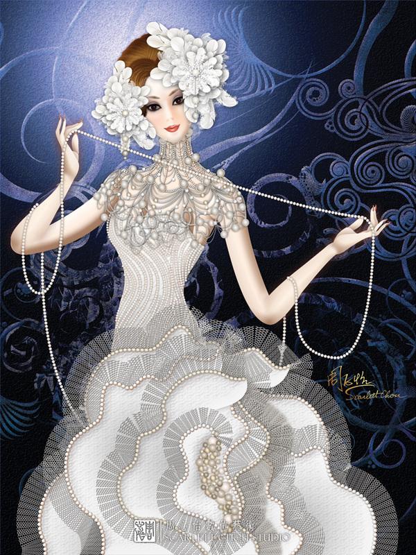 Fantasy art by Scarlett Chou
