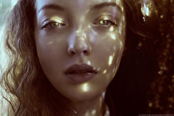 Marta Bevacqua, artistic portraits of Alexia