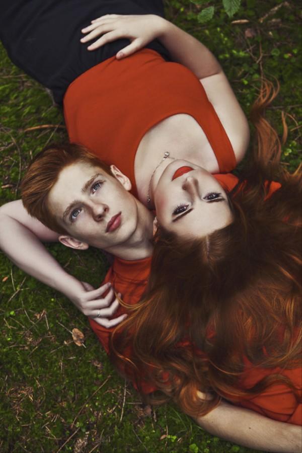 Redheaded calendar 2016, photos by Karolina Ryvolová