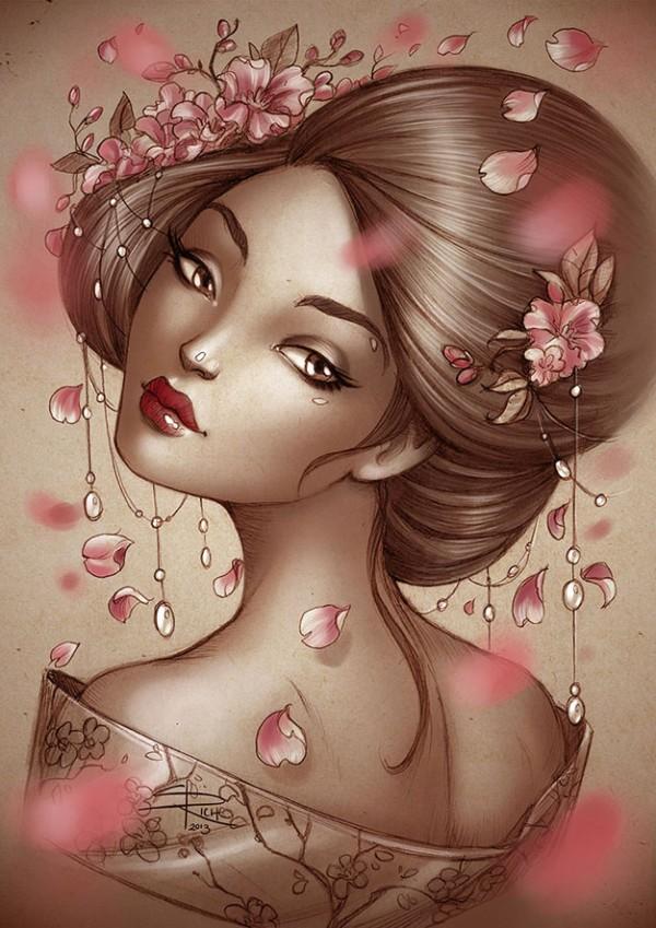 Sabine Rich, illustration