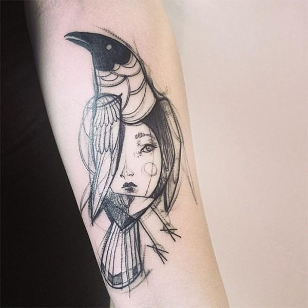 Nomi Chi, tattoos