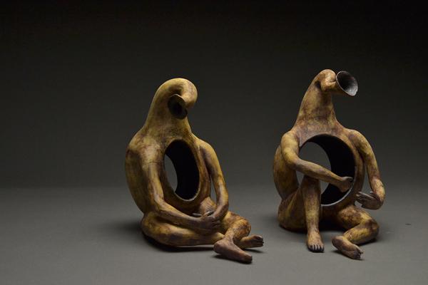 Revisit to the Vessel Form, sculpture by Sinem Oren