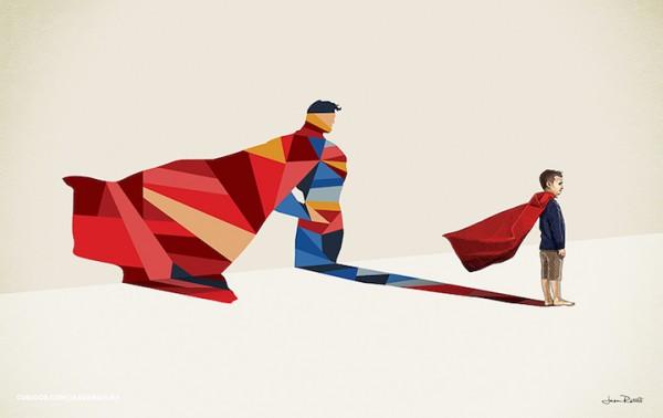 Super Shadows, illustration by Jason Ratliff
