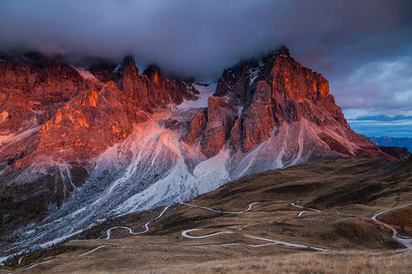 The Dolomites, photography by Mikołaj Gospodarek