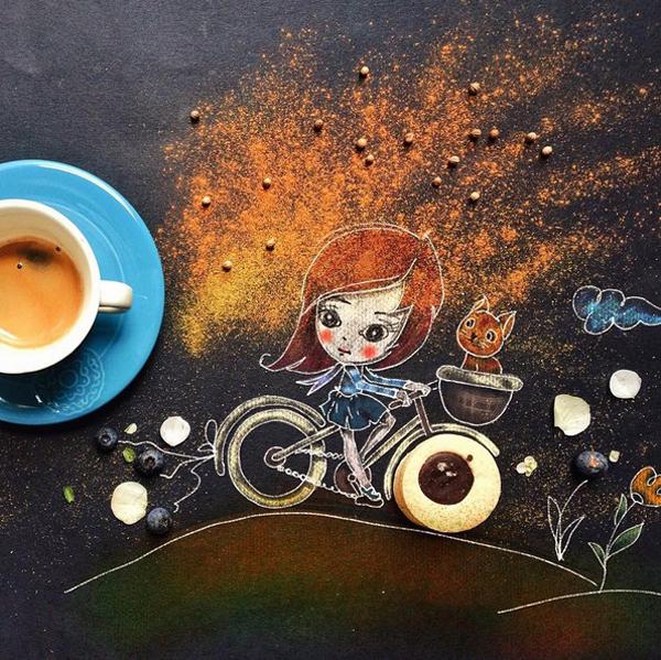Cinzia Bolognezi, illustrations