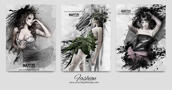 Fashion, digital art by Marthi Alvarez