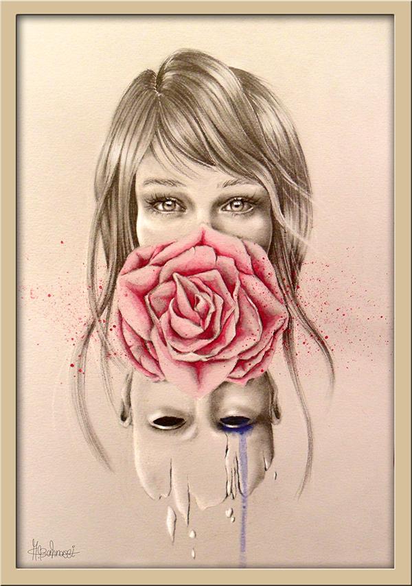 Marwah Al_bahnassi, Water coloring