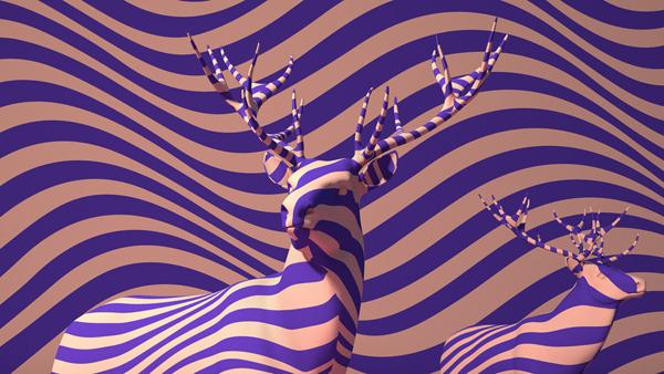 Migration, digital art by Mark Fleming