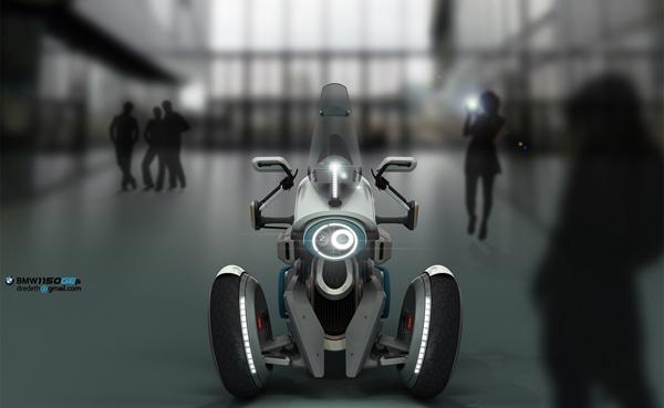 BMW 1150GEth Tesla Motion designed by Djordje Kovacevic