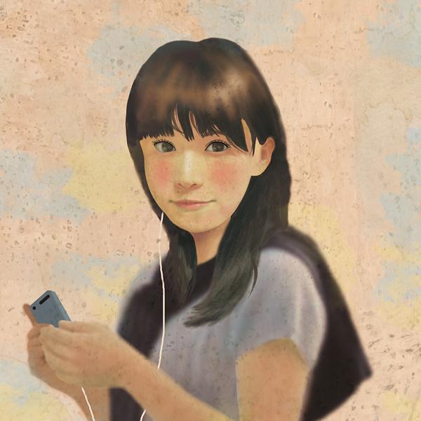 Women of Japan, illustration by Takeshi Tanaka