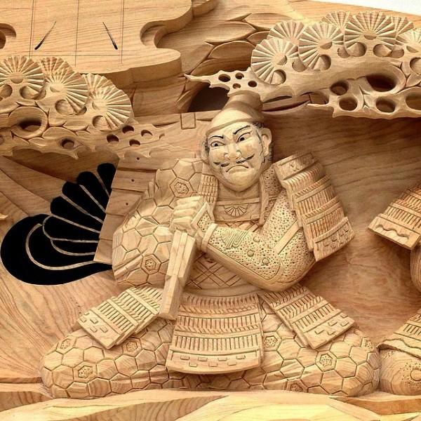 Incroyable sculptures en bois traditionnels japonais par Yosuke Yamamoto