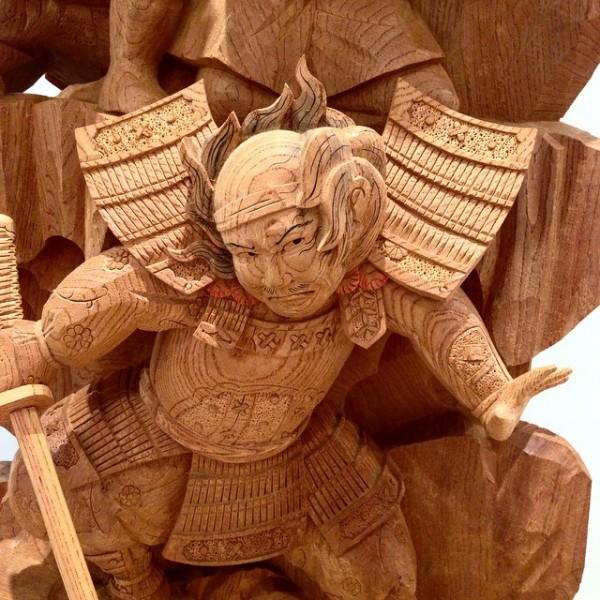 Amazing traditional Japanese wooden sculptures by Yosuke Yamamoto