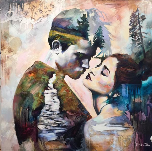 Dimitra Milan paints her wildest dreams