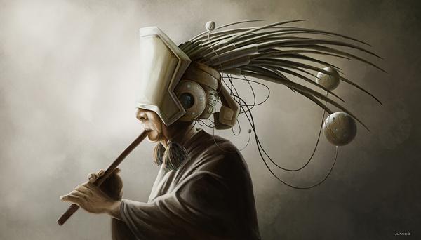 Futurista (Andes), digital art by Juanco
