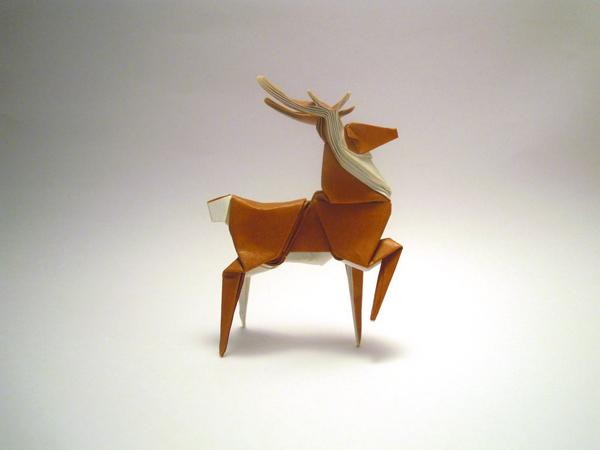 Origami designed and folded by Mindaugas Cesnavicius