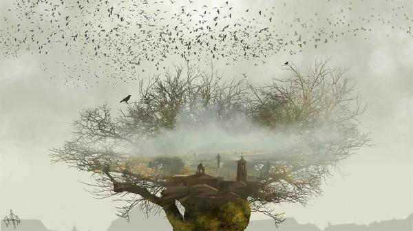 Realistic finger paintings by Jaime Sanjuan