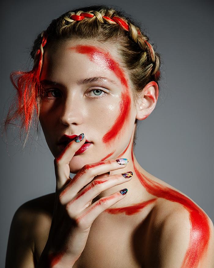 Vivid Beauty, retouched by Stefka Pavlova