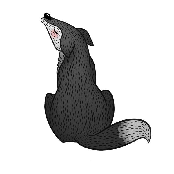Wild animals, illustration by Valeria Tsimbalenko