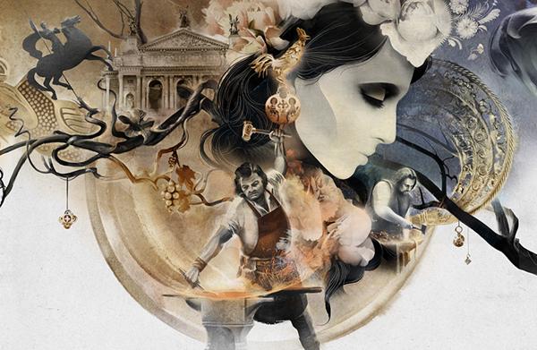 kurbatov, graphic arts, illustrations, snob magazine, pan limbert, Alexey Kurbatov