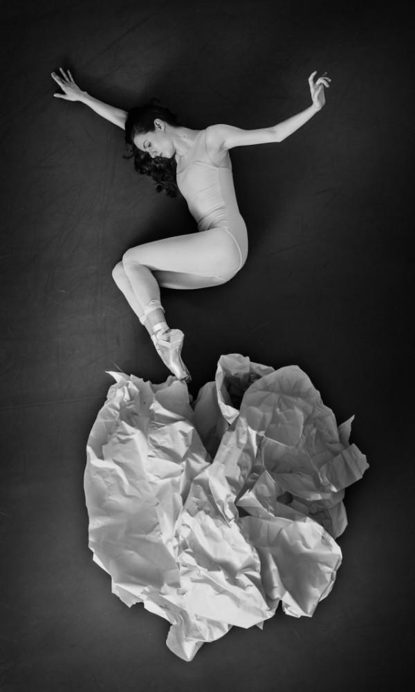 New York City Ballet, art series by JR