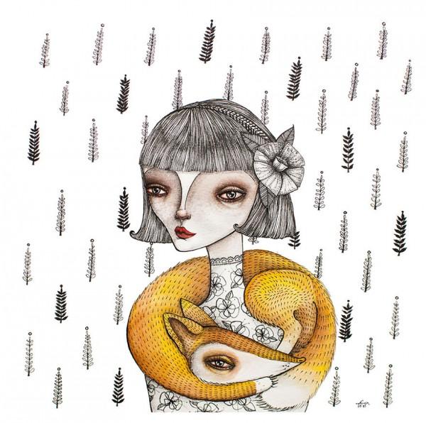 Norvile Dovidonyte, illustration